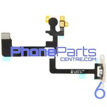 Aan en uitknop met flits voor iPhone 6 (5 pcs)