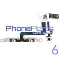 Volume en mute knoppen voor iPhone 6 (5 pcs)