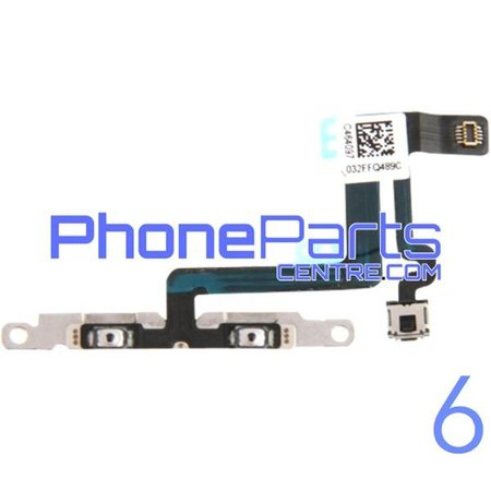 Volume en mute knoppen voor iPhone 6 (5 pcs)