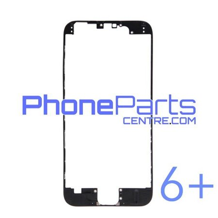 LCD frame with glue for iPhone 6 Plus (10 pcs)