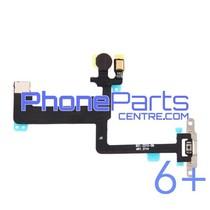 Aan en uitknop met flits voor iPhone 6 Plus (5 pcs)