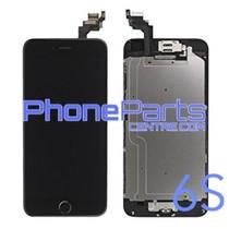 LCD scherm - alle onderdelen gemonteerd - voor iPhone 6S