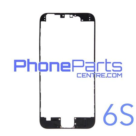 LCD frame with glue for iPhone 6S (10 pcs)