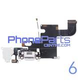 Dock connector met audio & microfoon voor iPhone 6 (5 pcs)