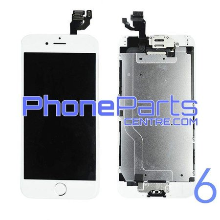 LCD screen / digitizer - all parts assembled - for iPhone 6