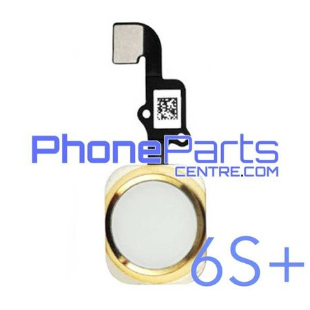 Volledige home button met kabel voor iPhone 6S Plus (5 pcs)