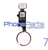 Volledige home button met kabel voor iPhone 7 (5 pcs)