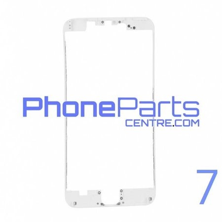 Frame met sticker t.b.v. LCD scherm voor iPhone 7 (10 pcs)