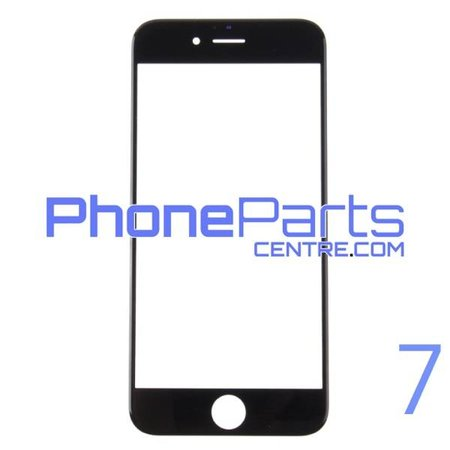 Glass lens for iPhone 7 (10 pcs)