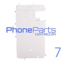 LCD Metal back plate for iPhone 7 (10 pcs)