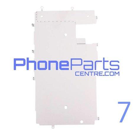 Metalen schild achterkant LCD voor iPhone 7 (10 pcs)