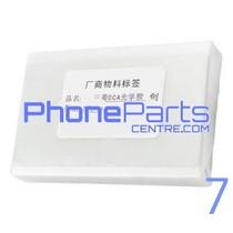 OCA lijmlaag t.b.v. touchscreen voor iPhone 7 (50 pcs)