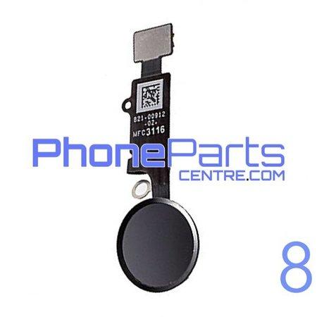 Volledige home button met kabel voor iPhone 8 (5 pcs)