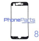 Frame met sticker t.b.v. LCD scherm voor iPhone 8 (10 pcs)
