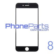 Glass lens / frame / OCA glue for iPhone 8 (10 pcs)