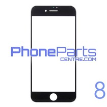 Glass lens for iPhone 8 (10 pcs)