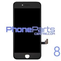 LCD scherm met touchscreen en frame premium kwaliteit voor iPhone 8