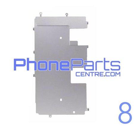 Metalen schild achterkant LCD voor iPhone 8 (10 pcs)