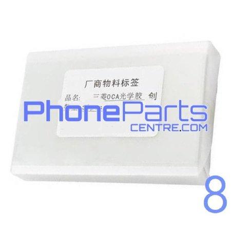 OCA lijmlaag t.b.v. touchscreen voor iPhone 8 (50 pcs)