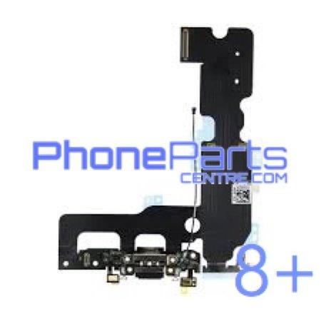 Dock connector / oplaadpunt met microfoon voor iPhone 8 Plus (5 pcs)