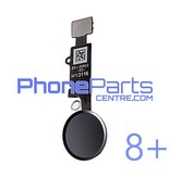 Full home button / flex cable for iPhone 8 Plus (5 pcs)