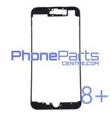 Frame met sticker t.b.v. LCD scherm voor iPhone 8 Plus (10 pcs)