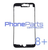 LCD frame with glue for iPhone 8 Plus (10 pcs)