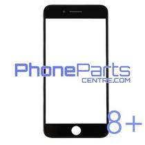 Glass lens / frame / OCA glue for iPhone 8 Plus (10 pcs)