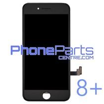 LCD scherm met touchscreen en frame premium kwaliteit voor iPhone 8 Plus