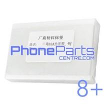 OCA lijmlaag t.b.v. touchscreen voor iPhone 8 Plus (50 pcs)