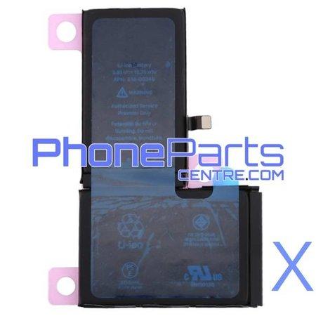 Batterij voor iPhone X (4 pcs)