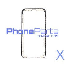 LCD frame with glue for iPhone X (10 pcs)