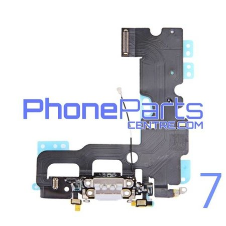Dock connector / oplaadpunt met microfoon voor iPhone 7 (5 pcs)