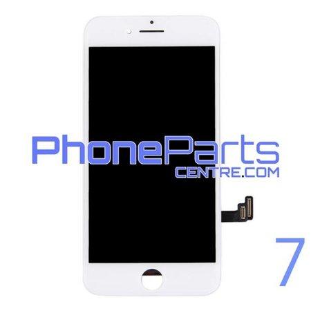 LCD scherm met touchscreen en frame premium kwaliteit voor iPhone 7