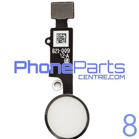 Full home button / flex cable for iPhone 8 (5 pcs)