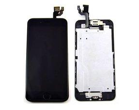 LCD scherm - alle onderdelen gemonteerd