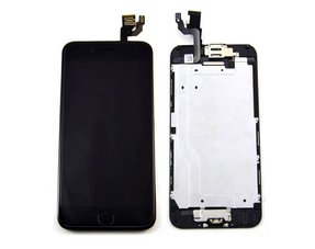 LCD screen / digitizer - all parts assembled