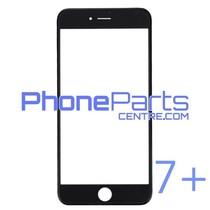 Glass lens / frame / OCA glue for iPhone 7 Plus (10 pcs)