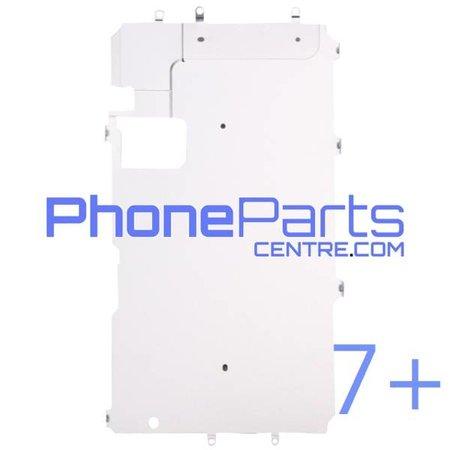 Metalen schild achterkant LCD voor iPhone 7 Plus (10 pcs)