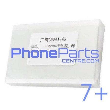 OCA lijmlaag t.b.v. touchscreen voor iPhone 7 Plus (50 pcs)
