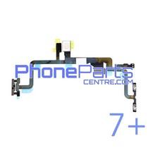 Aan uit volume en mute knoppen met flits voor iPhone 7 Plus (5 pcs)