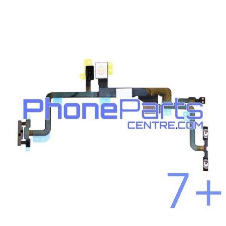 Power, volume & silent buttons  / flash  light for iPhone 7 Plus (5 pcs)