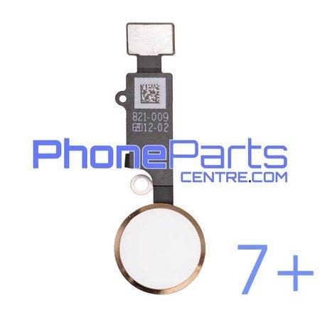 Volledige home button met kabel voor iPhone 7 Plus (5 pcs)