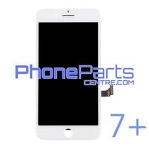 LCD scherm met touchscreen en frame premium kwaliteit voor iPhone 7 Plus