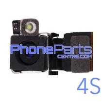 Camera achterkant met flits voor iPhone 4S (5 pcs)