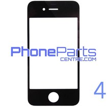 6D glass - dark retail packing for iPhone 4 (10 pcs)