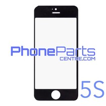 6D glass - dark retail packing for iPhone 5S (10 pcs)