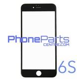 6D glas - donkere winkelverpakking voor iPhone 6S (10 stuks)