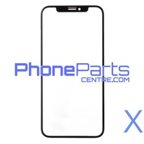 6D glass - dark retail packing for iPhone X (10 pcs)