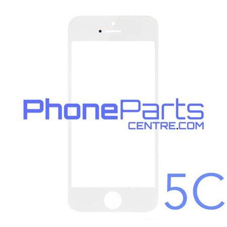 6D glas - donkere winkelverpakking voor iPhone 5C (10 stuks)